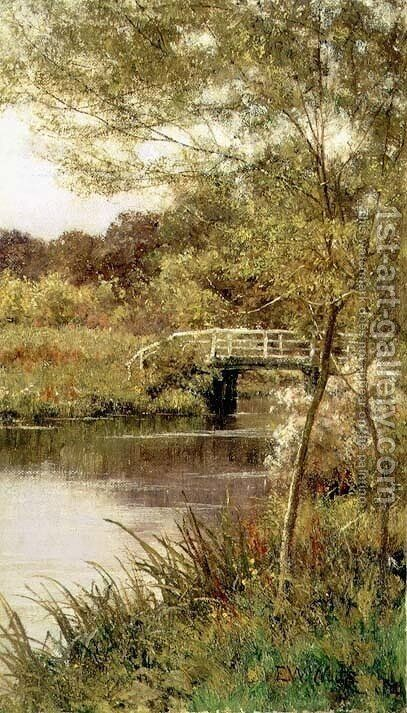 Summer on the Rother by Edward Wilkins Waite - Reproduction Oil Painting