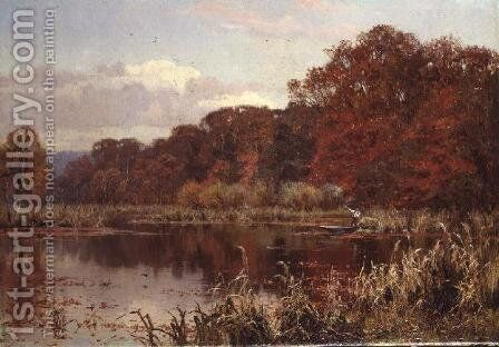 The Mill Pond, Abinger, 1903 by Edward Wilkins Waite - Reproduction Oil Painting