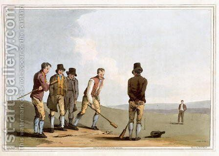 Nor and Spell, engraved by Robert Havell the Elder, published 1814 by Robinson and Son, Leeds by (after) Walker, George - Reproduction Oil Painting