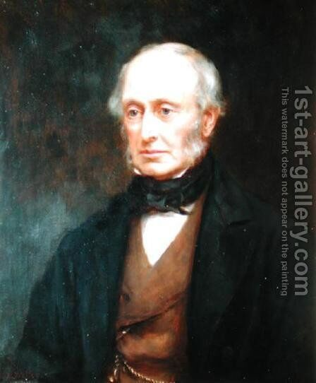 Lord William George Armstrong (1800-90) aged 88, 1898 by Mary Lemon Waller - Reproduction Oil Painting