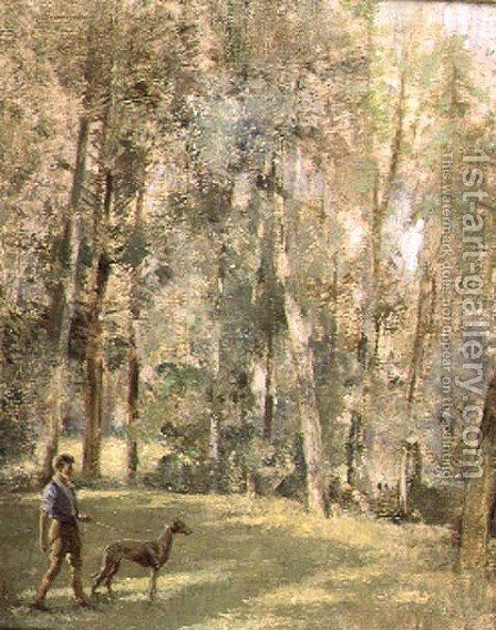 Woodlands by Edward Arthur Walton - Reproduction Oil Painting