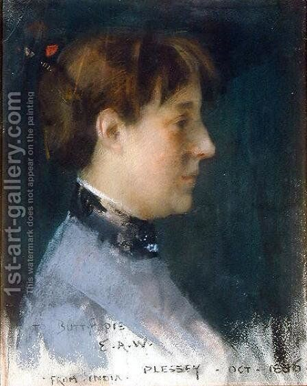 Portrait of Beatrice Crawhall, 1886 by Edward Arthur Walton - Reproduction Oil Painting