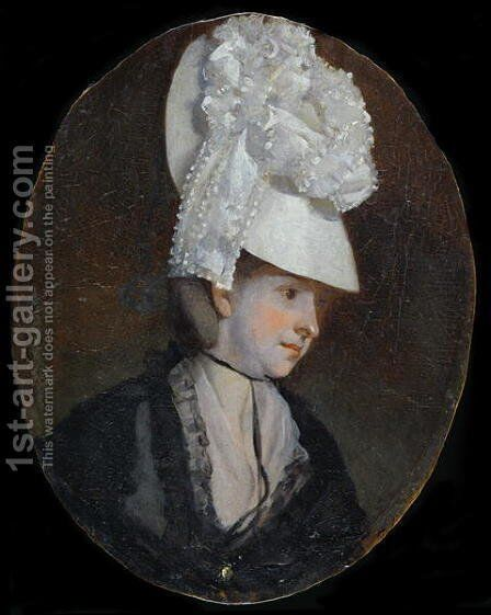 Winifred Constable by Henry Walton - Reproduction Oil Painting