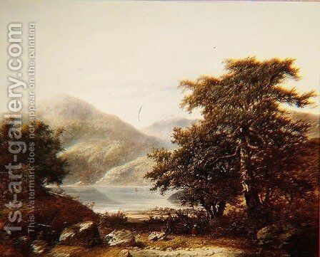 Loch Awe by James Charles Ward - Reproduction Oil Painting