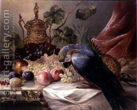 The Intruder by James Charles Ward - Reproduction Oil Painting