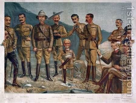 A General Group, published by Vanity Fair 1900 by (after) Ward, Leslie Matthew - Reproduction Oil Painting
