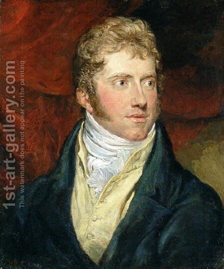 A Young Man, 1815 by James Ward - Reproduction Oil Painting