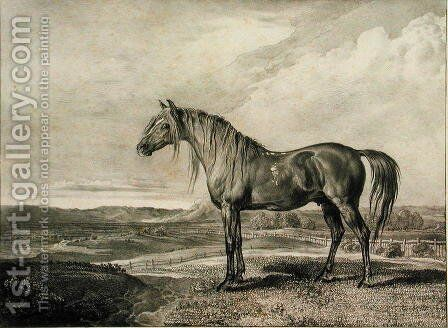 Copenhagen, from Celebrated Horses, a set of fourteen racing prints published by the artist, 1823-24 by James Ward - Reproduction Oil Painting