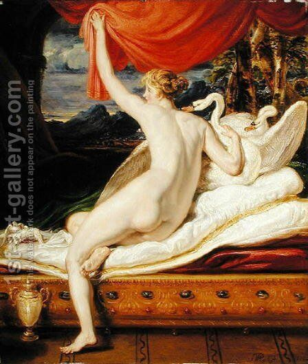 Venus Rising from her Couch, 1823 by James Ward - Reproduction Oil Painting