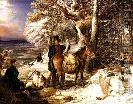 A Days Sport, 1826 by James Ward - Reproduction Oil Painting