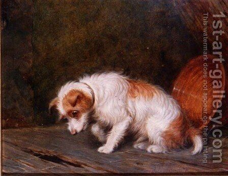 Waiting by Martin Theodore Ward - Reproduction Oil Painting