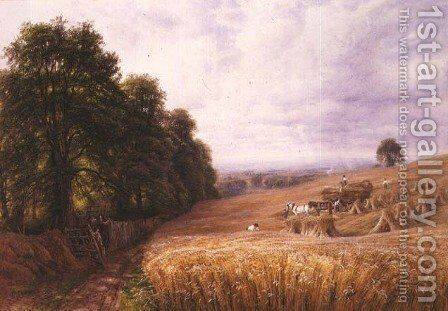 Bringing in the Harvest by Edmund George Warren - Reproduction Oil Painting