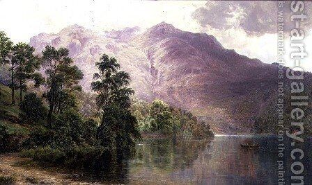 Ullswater by (after) Wathen, James - Reproduction Oil Painting