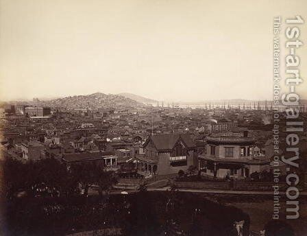 San Francisco, USA, 1869 by Carleton Emmons Watkins - Reproduction Oil Painting