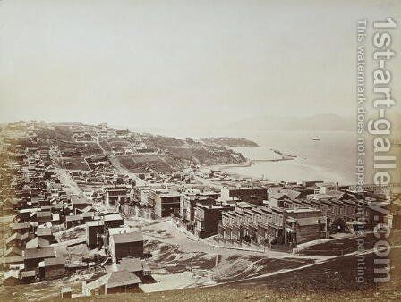 The Golden Gate from Telegraph Hill, San Francisco, 1868 by Carleton Emmons Watkins - Reproduction Oil Painting