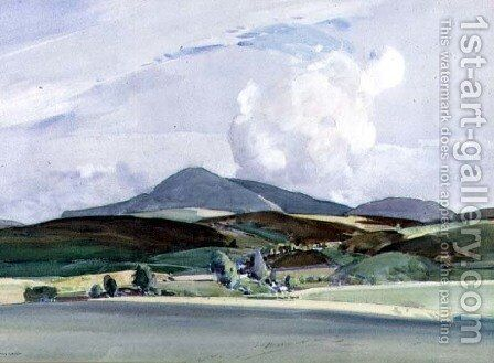 Mountain view by Harry Watson - Reproduction Oil Painting