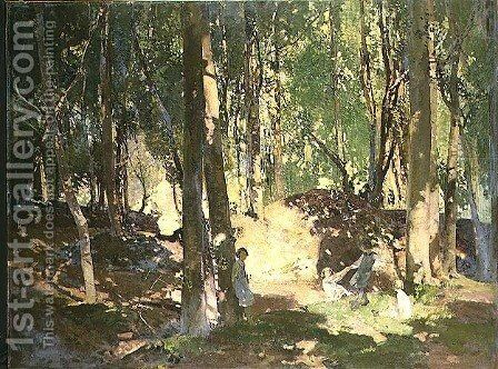 Morning in the Woods by Harry Watson - Reproduction Oil Painting