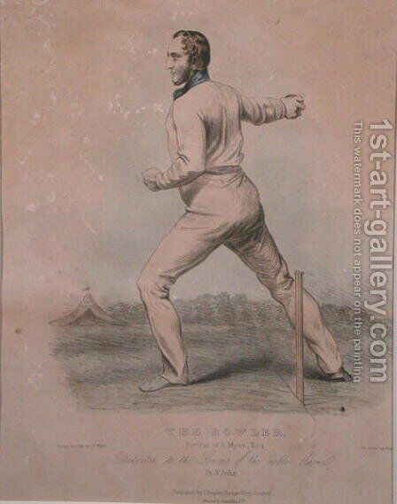 The Bowler by (after) Watts, George Frederick - Reproduction Oil Painting