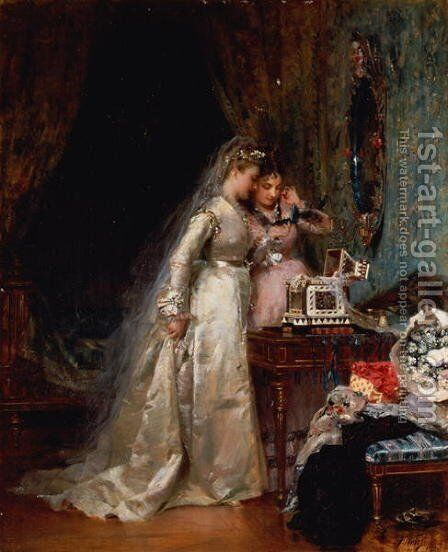 Her Wedding Day by Anton Weiss - Reproduction Oil Painting