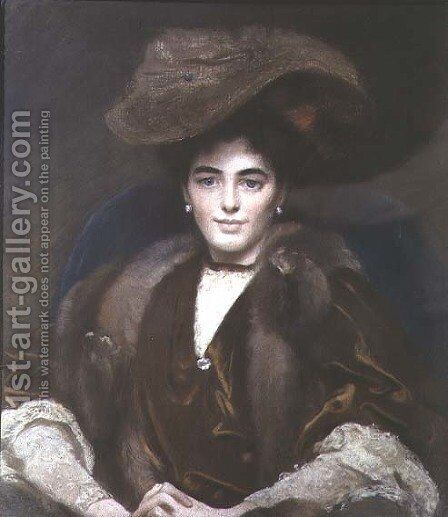 Margaret, Countess of Bradford by E.F. Wells - Reproduction Oil Painting