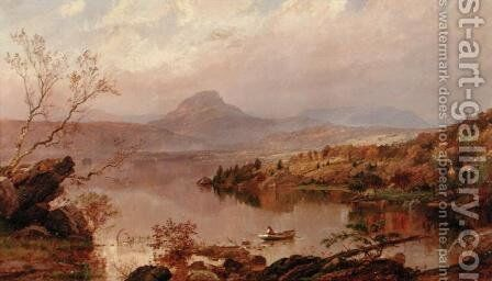 Sugarloaf from Wickham Lake, 1876 by Jasper Francis Cropsey - Reproduction Oil Painting