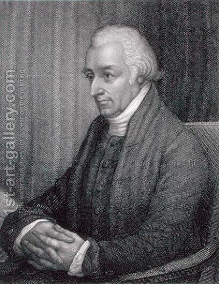 Lindley Murray (1745-1826) engraved by Stephen Henry Gimber (fl.c.1806-d.1862) by (after) Westoby, E - Reproduction Oil Painting