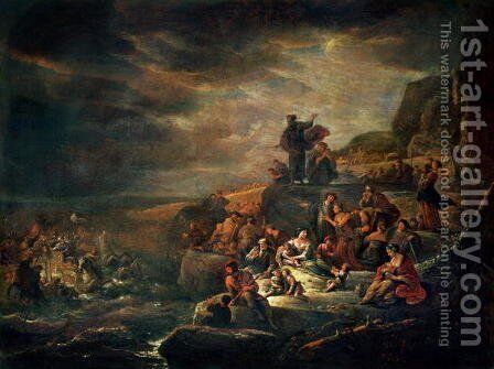 The Passage of the Red Sea by Jacob Willemsz de Wet the Elder - Reproduction Oil Painting