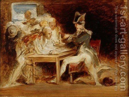 Nelsons Ghost by Sir David Wilkie - Reproduction Oil Painting