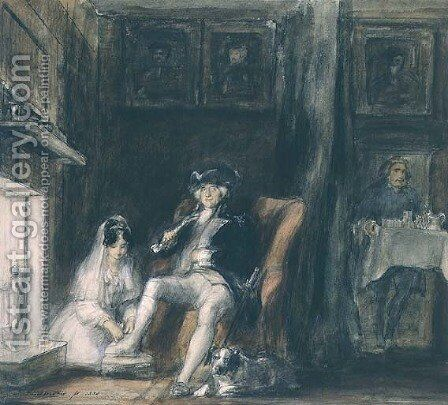 The Disabled Commodore in his Retirement, 1830 by Sir David Wilkie - Reproduction Oil Painting