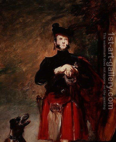Duke of Sussex by Sir David Wilkie - Reproduction Oil Painting
