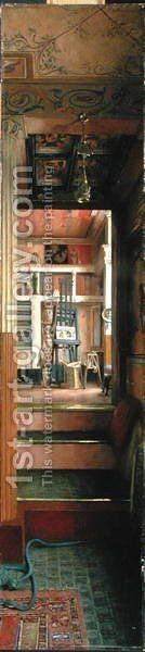 The Studio of Alma-Tadema, c.1883 by Emily Williams - Reproduction Oil Painting