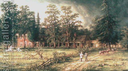 Stenton, 1876 by Isaac Williams - Reproduction Oil Painting