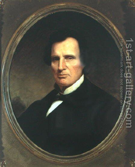 Thaddeus Stevens (1792-1868) by Matthew Wilson - Reproduction Oil Painting