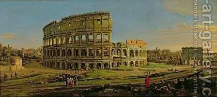 The Colosseum 2 by Caspar Andriaans Van Wittel - Reproduction Oil Painting