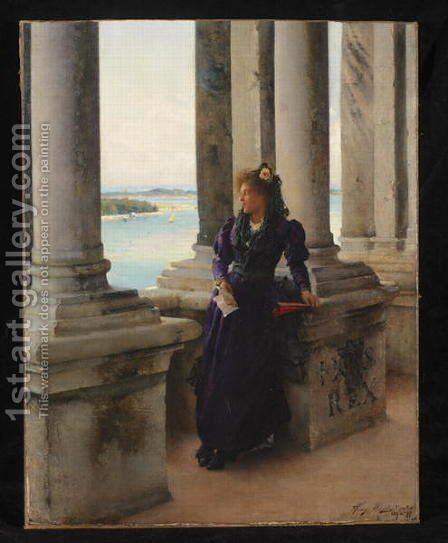 In the Belfry of the Campanile of St. Marks, Venice, 1892 by Henry Woods - Reproduction Oil Painting
