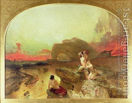 The Sirens by Alfred Woolmer - Reproduction Oil Painting