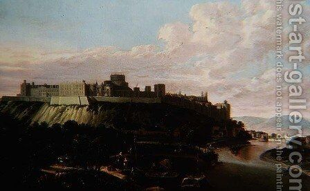 Windsor Castle by Jan Wyck - Reproduction Oil Painting