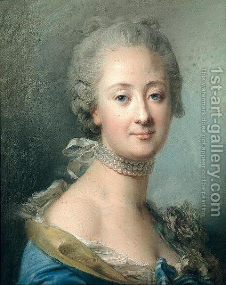 Adelaide de France (1732-1800) by Jean Valade - Reproduction Oil Painting