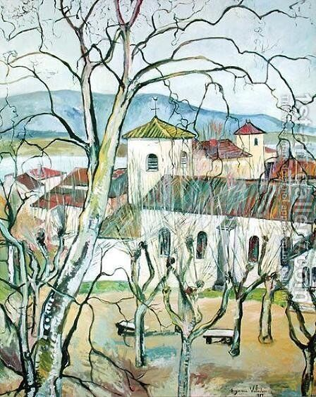 The Village of Saint-Bernard, Ain, 1929 by Suzanne Valadon - Reproduction Oil Painting