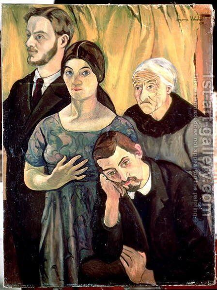 Family Group, 1912 by Suzanne Valadon - Reproduction Oil Painting
