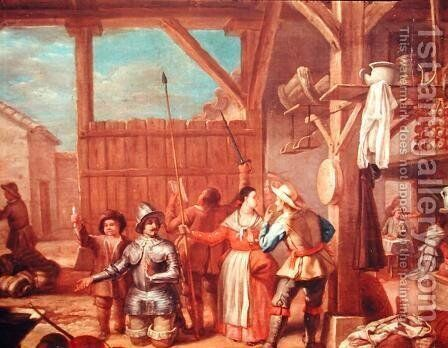 Don Quixote in Knights Armour by Cristobal Valero - Reproduction Oil Painting