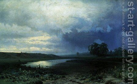 Wet Meadow, 1872 by Fedor Aleksandrovich Vasiliev - Reproduction Oil Painting