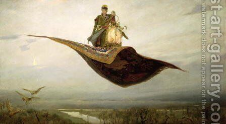The Magic Carpet, 1880 by Apollinari Mikhailovich Vasnetsov - Reproduction Oil Painting