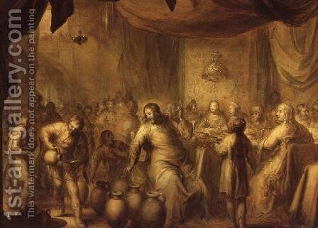 The Marriage at Cana by Adriaen Pietersz. Van De Venne - Reproduction Oil Painting