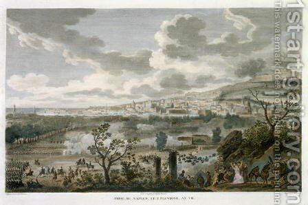 The Capture of Naples, 2 Pluviose, Year 7 23 January 1799 engraved by Jean Duplessi-Bertaux 1747-1819 by Carle Vernet - Reproduction Oil Painting