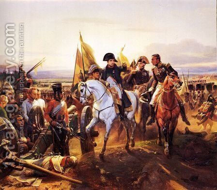 The Battle of Friedland, 14th June 1807 2 by Horace Vernet - Reproduction Oil Painting
