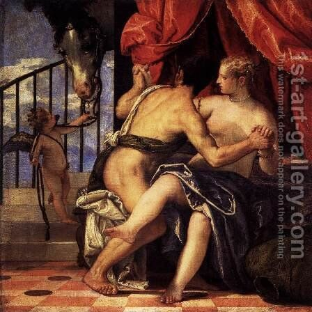 Mars and Venus by Paolo Veronese (Caliari) - Reproduction Oil Painting