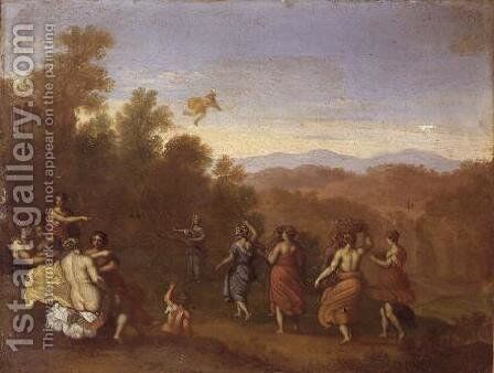 Mercury and Herse by Daniel Vertangen - Reproduction Oil Painting
