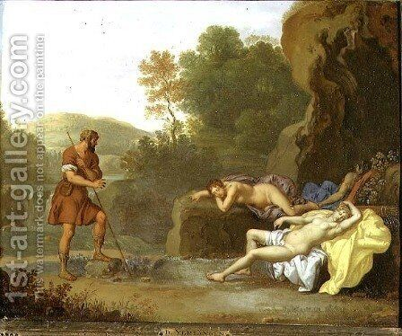 Cimon and Iphigenia by Daniel Vertangen - Reproduction Oil Painting
