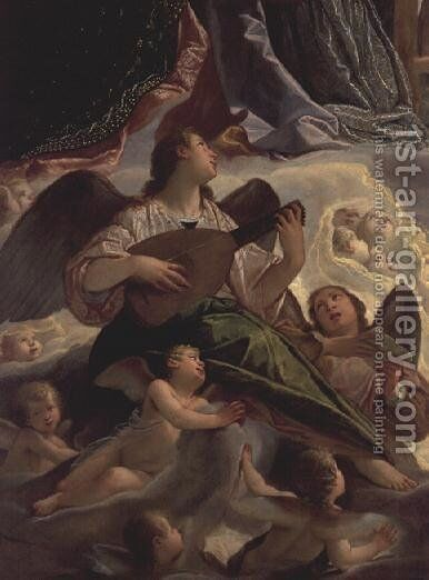 Trinity with St. Ursula and St. Margaret by Antonio Maria Viani - Reproduction Oil Painting